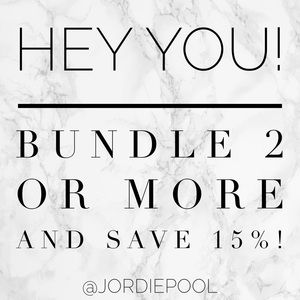 ⭐️ bundle and save ⭐️